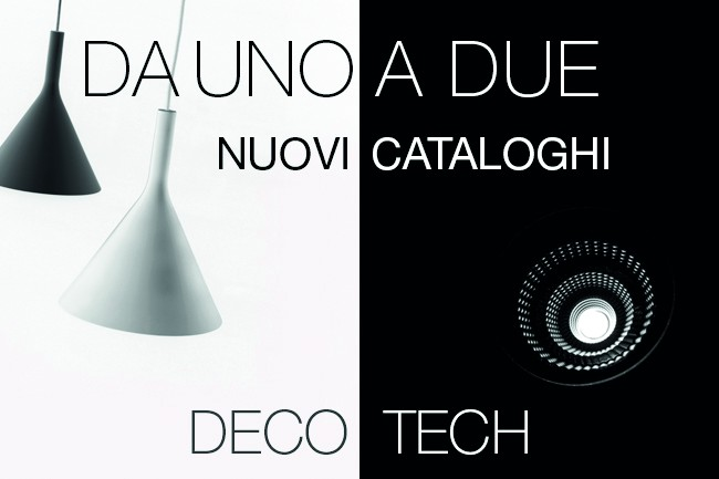 New Deco and Tech catalogues